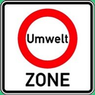 Traffic Sign Umwelt ZONE